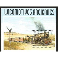 V) 1999 TOGOLAISE, RAILWAY LOCOMOTIVES, SOUVENIR SHEET, MNH
