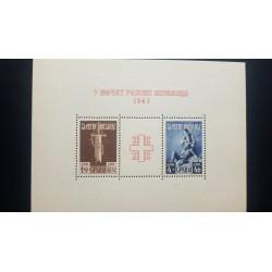 O) 1943 SERBIA, BROKEN SWORD 1.50d +48.50d, TENDING CASUALTY 4d + 46d -SCT 2NB27, MNH