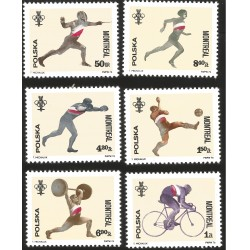 V) 1976 POLAND, 21ST OLYMPIC GAME, MONTREAL CANADA, MNH