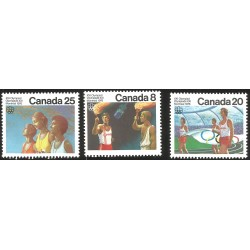 V) 1976 CANADA, XXI OLYMPIC GAME, MONTREAL, CEREMONIES, MNH