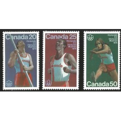 V) 1976 CANADA, XXI OLYMPIC GAME, MONTREAL, MARATHON RUNNING, MNH