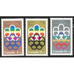 V) 1973 CANADA, 21ST OLYMPIC GAMES, MONTREAL 1976, MNH