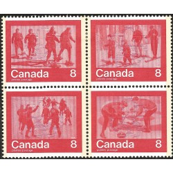 V) 1974 CANADA, 1976 WINTER OLIMPIC GAME, MNH