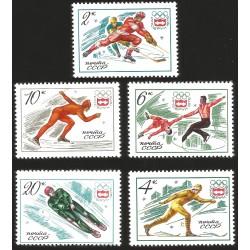 V) 1976 RUSSIA, 12TH OLYMPIC GAME, INNSBRUCK, AUSTRIA, MNH