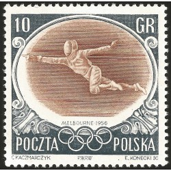 V) 1956 POLAND, 16TH OLYMPIC GAME, MELBOURNE