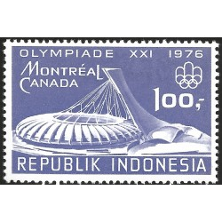 V) 1976 INDONESIA, 21ST OLYMPIC GAME, MONTREAL CANADA, STADIUM