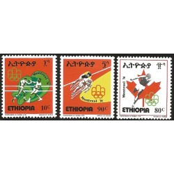 V) 1976 ETHIOPIA, 21ST OLYMPIC GAMES, MONTREAL, CANADA, MNH