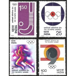V) 1976 INDIA, 21ST OLYMPIC GAMES, MONTREAL, CANADA, MNH