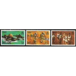 V) 1976 BELIZE, 21ST OLYMPIC GAMES, MONTREAL, CANADA, MNH