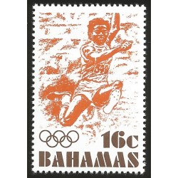V) 1976 BAHAMAS, 21ST OLYMPIC GAMES, MONTREAL CANADA