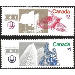 V) 1976 CANADA, 21ST OLYMPIC GAMES, MONTREAL, OLYMPIC STADIUM, MNH