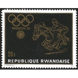 V) 1972 RWANDA, 20TH SUMMER OLYMPIC GAMES, MUNICH, MNH