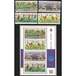 V) 1976 COOK ISLAND, 21ST OLYMPIC GAMES, MONTREAL, CANADA, MNH