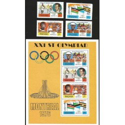 V) 1976 TANZANIA, 21ST OLYMPIC GAMES, MONTREAL, CANADA, MNH