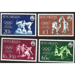 V) 1976 SEYCHELLES, 21ST OLYMPIC GAMES, MONTREAL CANADA, MNH