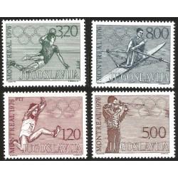 V) 1976 YUGOSLAVIA, OLYMPIC GAMES MONTREAL, MNHV) 1976 YUGOSLAVIA, OLYMPIC GAMES MONTREAL, MNH