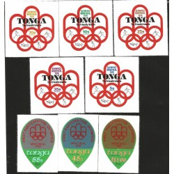 V) 1976 TONGA, OLYMPIC GAMES MONTREAL, FIRST PARTICIPATION, MNH