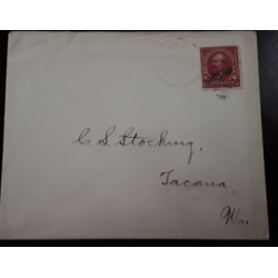 O) 1899 CIRCA - PHILIPPINES - US POSSESSIONS, GARFIELD 6c OVERPRINTED IN BLACK, TO TACANA