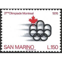 1976 SAN MARINO, 21ST OLYMPIC GAMES, MNH