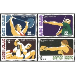 V) 1976 SAMOA, 21ST OLYMPIC GAME, MONTREAL CANADA, MNH