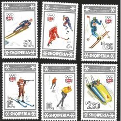 V) 1976 ALBANIA, 12TH WINTER OLYMPIC GAMES, INNSBRUCK, AUSTRIA, MNH