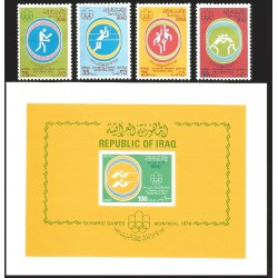 V) 1976 IRAQ, OLYMPIC GAMES, MONTREAL, CANADA, MNH