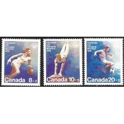 V) 1976 CANADA, XXI OLYMPIC GAME, MONTREAL, MNH