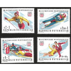 V) 1976 AUSTRIA, WINTER OLYMPIC GAMES, INNSBRUCK, MNH