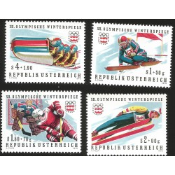 V) 1976 AUSTRIA, OLYMPIC GAMES WINTER, INNSBRUCK, MNH