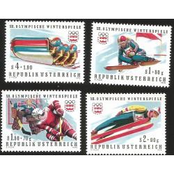 V) 1976 AUSTRIA, OLYMPIC GAMES WINTER, INNSBRUCK, MNH