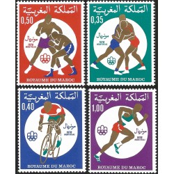 V) 1976 MOROCCO, 21ST OLYMPIC GAME, MONTREAL CANADA, MNH
