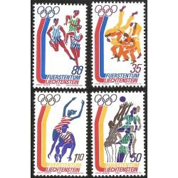V) 1976 LIECHTENSTEIN, 21ST OLYMPIC GAME, MONTREAL CANADA, MNH