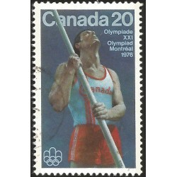 V) 1976 CANADA, 21ST OLYMPIC GAME, MONTREAL, USED