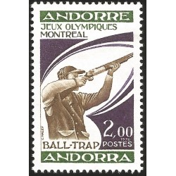 V) 1976 ANDORRA, 21ST OLYMPIC GAME, MONTREAL CANADA, MNH
