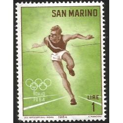 V) 1964 SAN MARINO, 18TH OLYMPIC GAMES, TOKYO, MNH