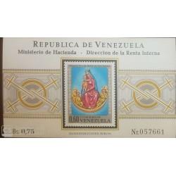 O) 1970 VENEZUELA, OUR LADY OF BELEN DE SAN MATEO - SC 971, MNH