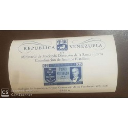 O) 1961 VENEZUELA, JUAN J. AGUERREVERE - ENGINEERING SOCIETY FROM 1861-SC 801