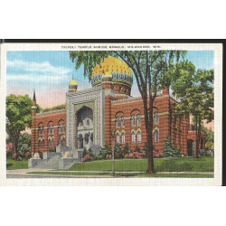 J) 1958 UNITED STATES, MASONIC GRAND LODGE, SCOTTISH RITE CATHEDRAL, POSTCARD