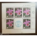 O) 1971 VENEZUELA, SOCIETY OF NATURAL HISTORY - FLOWERS - CATTLEYA MOSSIAE - ORCHIDS, MNH