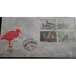 O) 2003 UNITED NATIONS, ENDANGERED SPECIES. BIRD - FDC XF