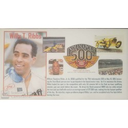 V) 2011 USA, 100TH ANNIVERSARY, INDIANAPOLIS 500, WILLY T. RIBBS, WITH SLOGAN CANCELATION , FDC