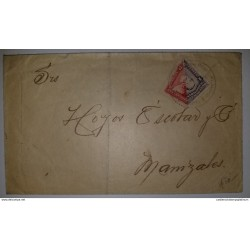 J) 1852 SPAIN, CADIZ TO GUANAJUATO MARITIME INBOUND MAIL, RSM, TRANSIT IN VERACRUZ, EX HEATH, XF