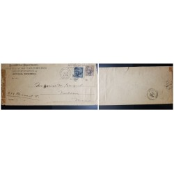 O) 1899 PHILIPPINES, PENALTY . PRIVATE - POST OFFICE - MILITARY STATION - OFFICIAL BUSINES,  ULYSSES GRANT 5c, WEBSTER 10c, XF