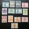 O) 1935 COLOMBIA, COFFEE CULTIVATION -SCOTT 133 5 CENTAVOS BROW, IMPORTACION DIRECTA Y ARTICULOS DEL PAIS EL OTRO MUNDO