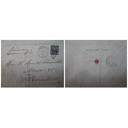 O) 1903 PHILIPPINES - MANILA  P.I. - US OCCUPATION, E.S IN  LACRE - SEALING WAX, ULYSSES GRANT 5c, ENRIQUE SPITZ, TO REMSCHEID
