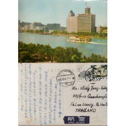 O) 1999 HONG KONG, ARCHITECTURE- WORLD PHILATELIC EXHIBITION IN CHINA 1999,STAMP SHEETLET, SOUVENIR MNH