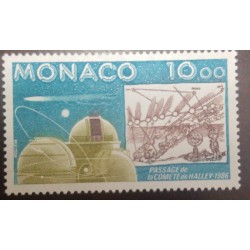 O) 1986 MONACO, ASTRONOMY, HALLEY´S COMET, EDMUND HALLEY, OBSERVATORY, MNH