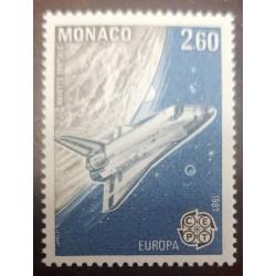 O) 1983 MONACO, SPACE NAVE, MNH
