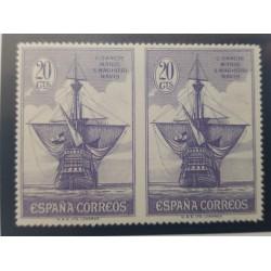 O) 1939 SPAIN, TUBERCULOSIS - TAX WAR -SC RA12 10c, QUEEN ISABELLA I - SC 675 40c, FISCAL . FRANQUEO OBLIGATORIO LOJA -5c
