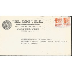 O) 1956 UNITED STATES, THE LANDING OF CADILLAC AT DETROIT-NEVADA FIRST SETTEMENT CENTENNIAL-COLORAD 1876 ANNIVERSARY OF STATE
